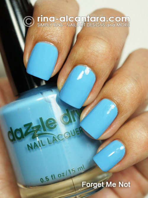 Dazzly Dry Forget Me Not