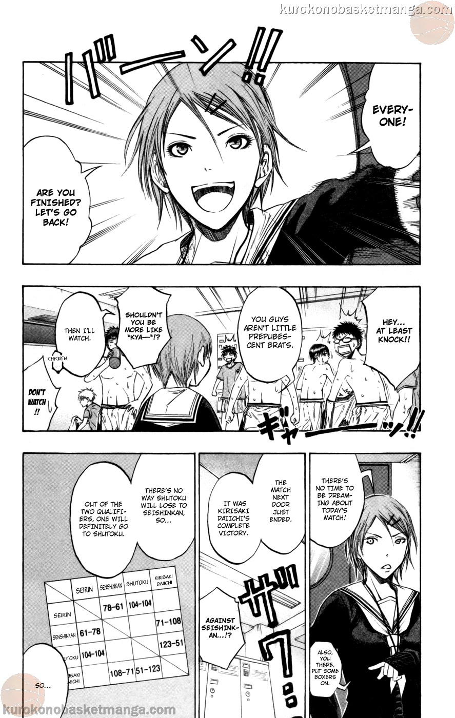 Kuroko no Basket Manga Chapter 93 - Image 10