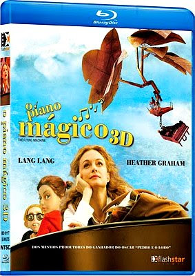 Filme Poster O Piano Mágico BDRip XviD Dual Audio & RMVB Dublado
