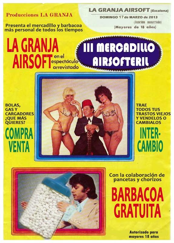 """III MERCADILLO DE AIRSOFT Y PARTIDA """"DOS REINOS:EL PÁNICO"""". LA GRANJA 17-03-13. 4+mercadillo+del+airsoft+copia"""