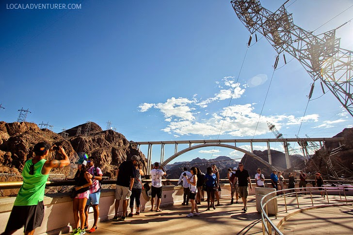 Hoover Dam Observation Deck.