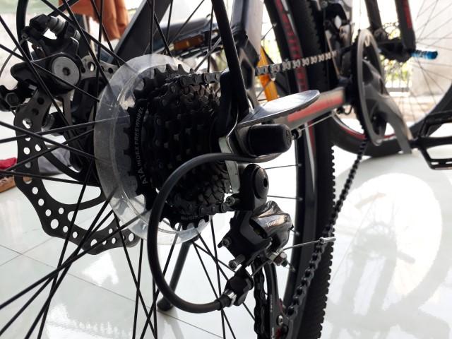Bộ gác chân xe đạp hợp kim nhôm