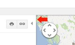 Google Maps Subtle Inset