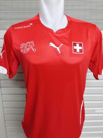 Jual Jersey Swiss Piala Dunia 2014