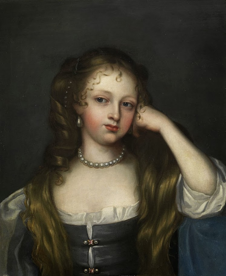 Attributed to Mary Beale - Portrait of Nell Gwyl