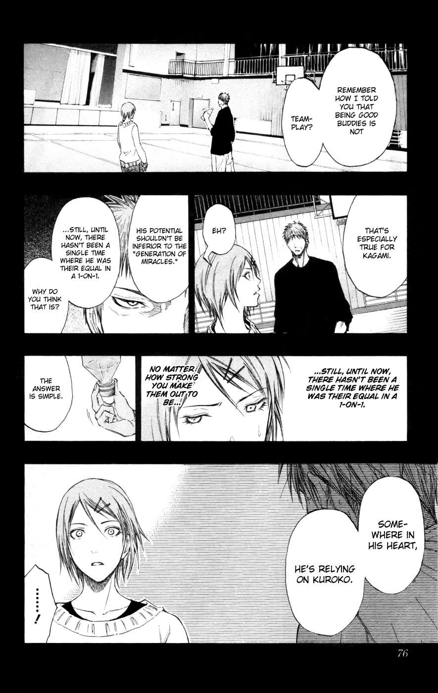 Kuroko no Basket Manga Chapter 121 - Image 10