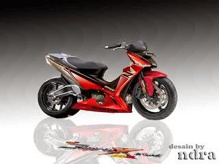 Kawasaki Athlete Modifikasi Supermoto