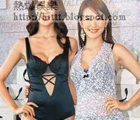 清穗久美子(右)與金愛妍穿內衣出騷都冇所謂。