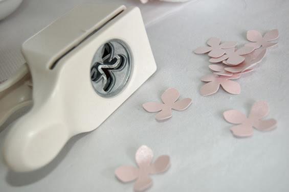 Cortador de papel flor