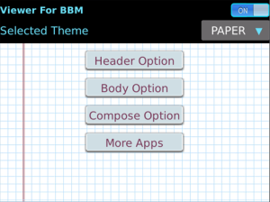 Cute Smart Sexy Fancy Theme HD for BBM - Viewer And Composer v2.2 BlackBerry Apps