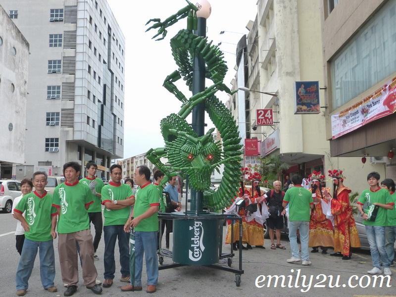 Carlsberg dragon CNY 2012