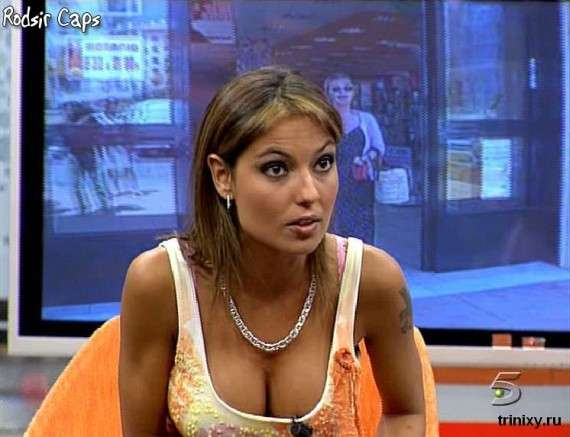 Sexy Hot Italian Tv Anchor woman cant