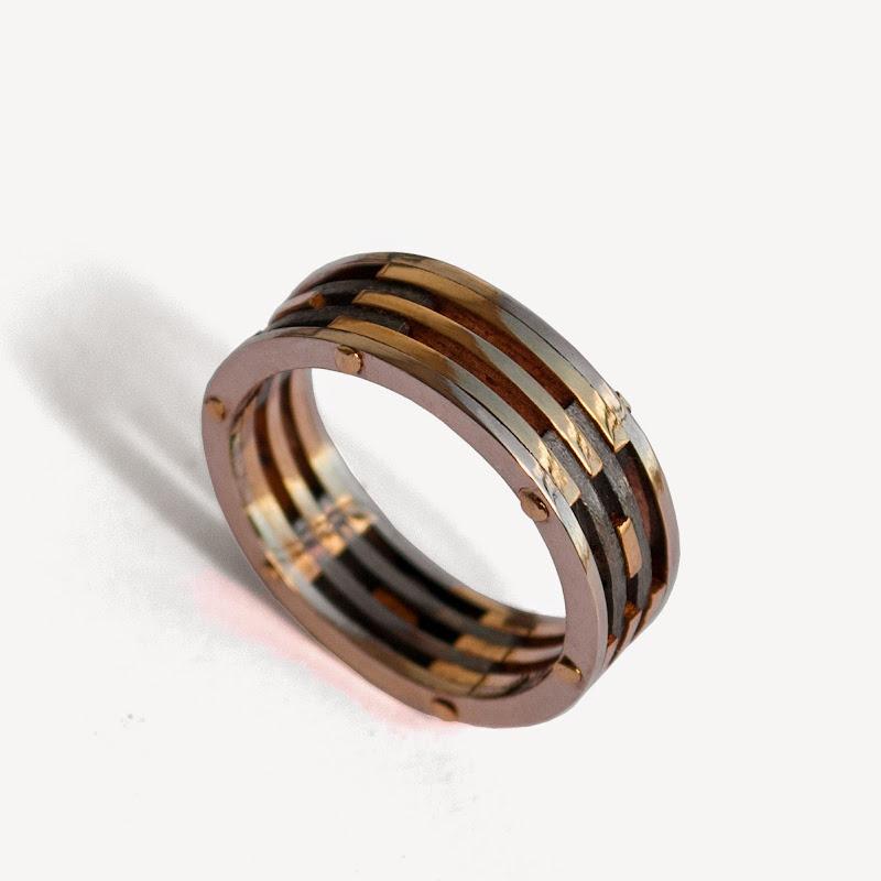 Rose Gold Wedding Rings Men 82 Amazing