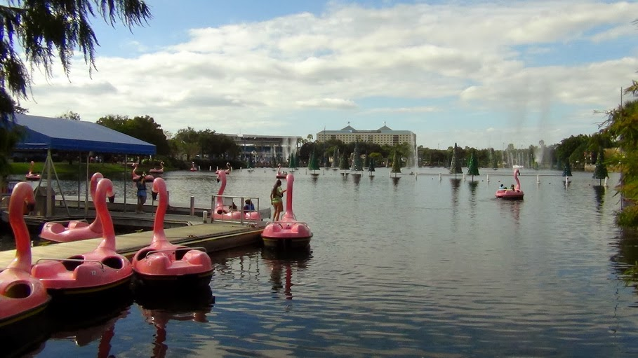 В Орландо, парк Sea World