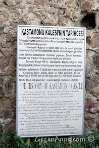 Kastamonu Kalesi'nin tarihçesi