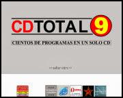 Menú CDTotal 9