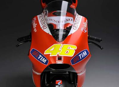 Ducati MotoGP, Valentino Rossi
