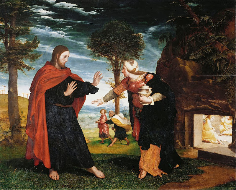 Hans Holbein the Younger - Noli Me Tangere - Google Art Project