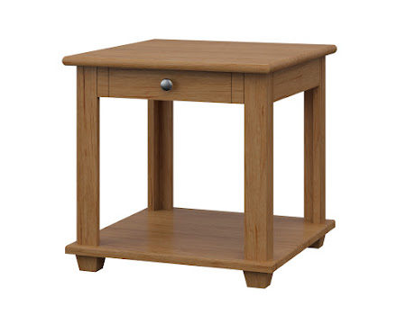 Monrovia End Table in Calhoun Maple