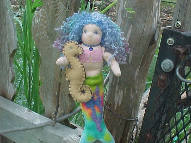 Mer-babies: Custom Waldorf Mermaid Dolls