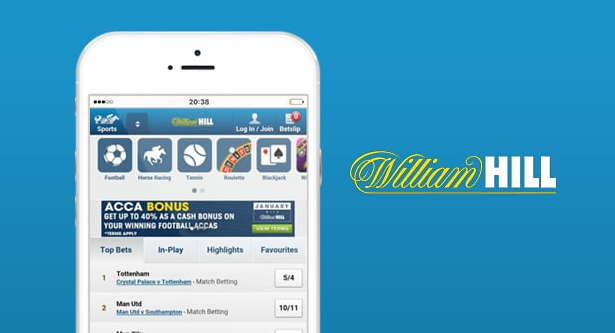 William Hill мобильное приложения для iOS