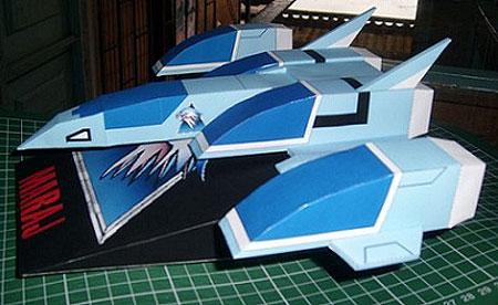 Silverhawks Papercraft Mirage