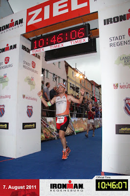 I am Finisher in Regensburg 2011
