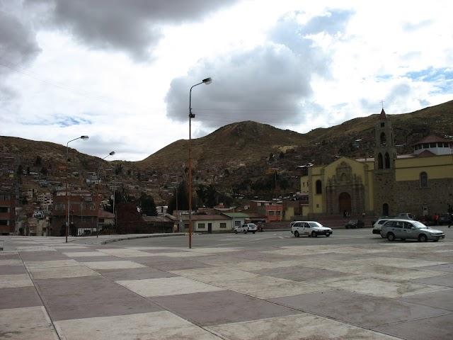 La iglesia del Socavón, Oruro