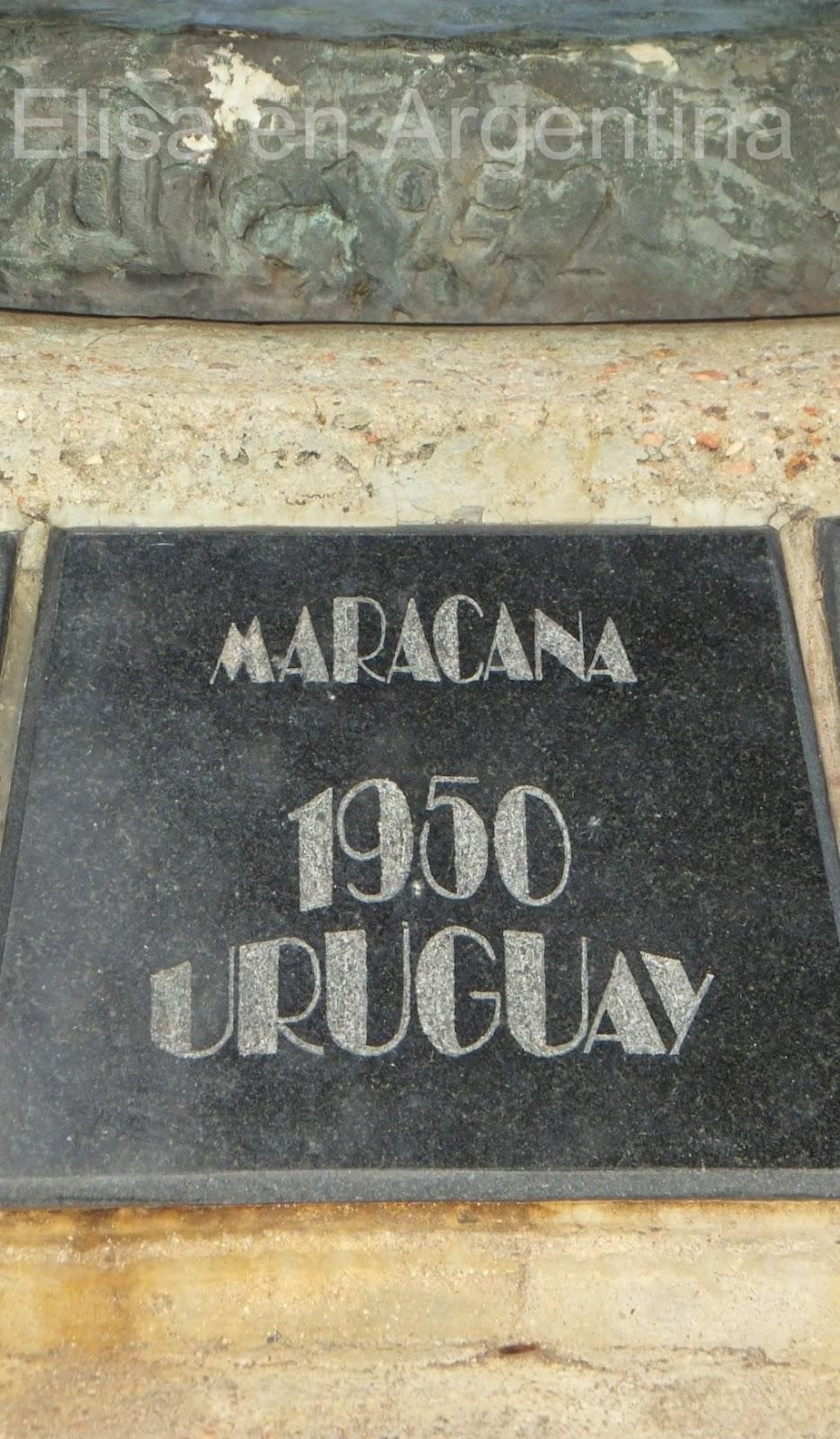 Monumento a los Campeones de 1950, Montevideo