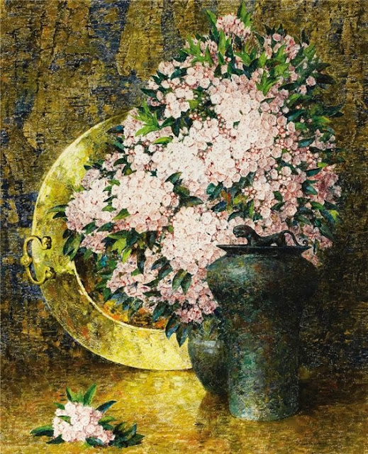 Emil Carlsen - Laurel With Brass Plate