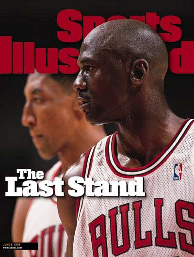 *Sports Illustrated:慶祝Michael Jordan 50歲生日封面特輯回顧! 12