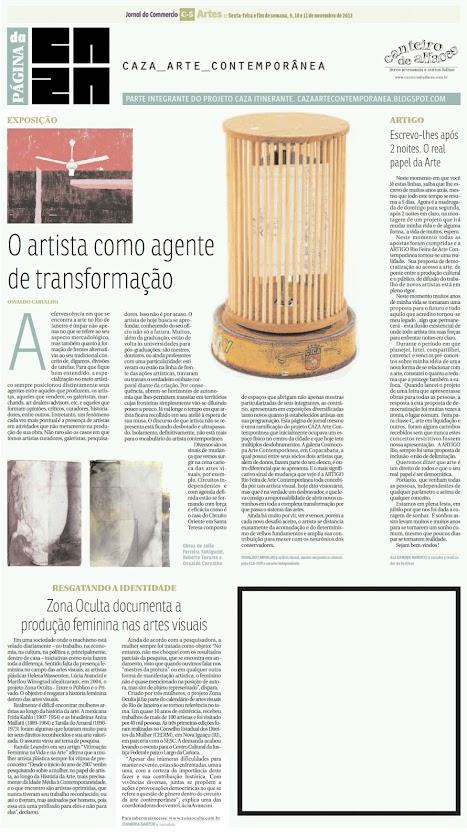 Página da Caza - 09 de Novembro de 2012