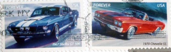 stamps, USA