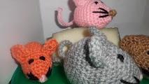 Raton de ganchillo o crochet