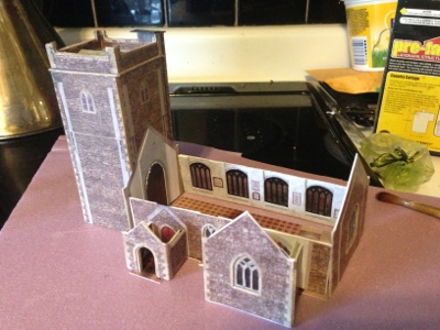 The Tudor / Medieval / Jacobean / Queen Anne Dollhouse