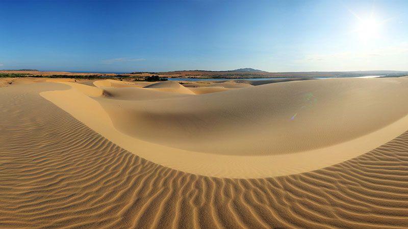 Bộ ảnh những bãi cát vàng tuyệt đẹp