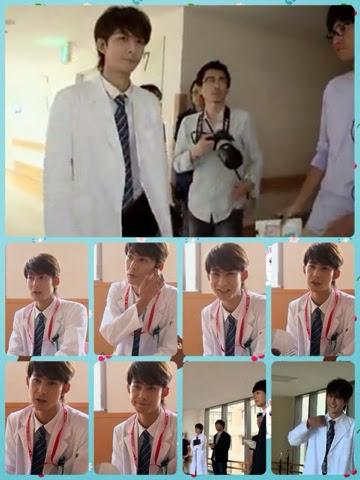 The making of Takashi Kashiwabara cameo in Itazura Na Kiss - Love In