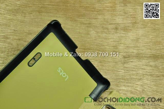 Bao da LG Optimus Vu 2 F200 Lots Double View