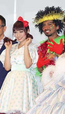舞台「THE WIZ ?オズの魔法使い~」で共演していた、ISAAさんと増田有華さん