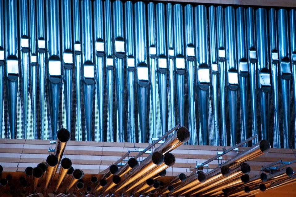 El imponente órgano de la Sala Simón Bolívar del Centro Nacional de Acción Social por la Música fue el gran protagonista del evento