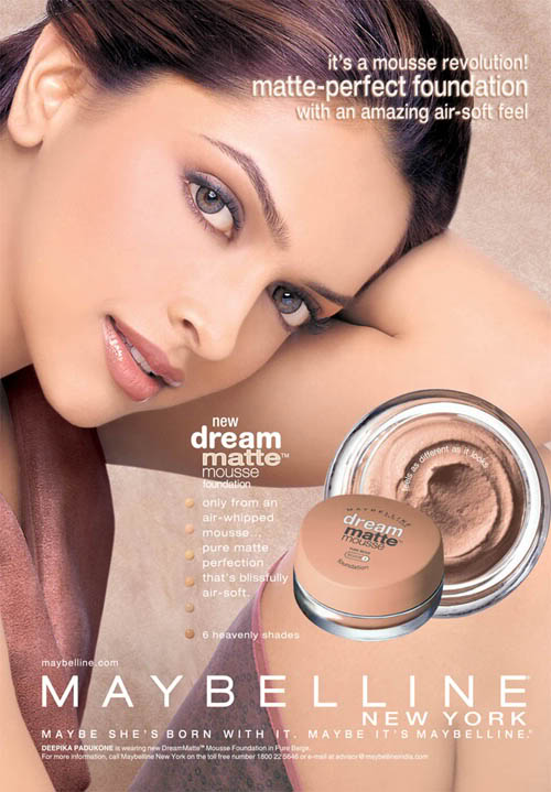 Deepika Padukone Maybelline Ads Scans:bollywood0