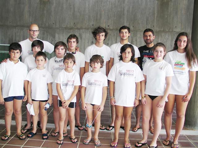 Nadadores de Lamego alcançam excelente prestação em prova distrital