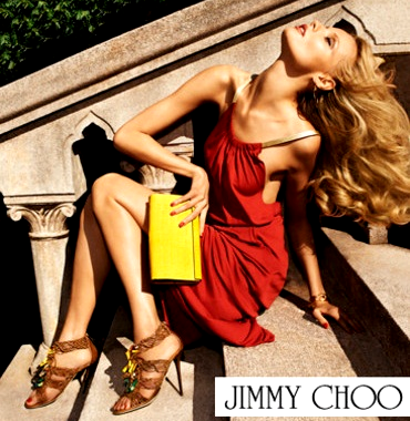 Jimmy Choo Magdalena Frackowiak Accessorie Spring Summer 2012 ad campaign