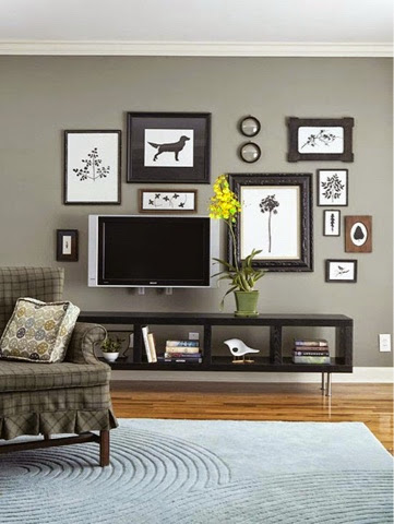 How To Hang Multiple Pictures On Wall lynn morris interiors : creating a gallery wall.