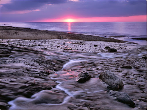 Sunset Light, Lake Superior, Pictured Rocks National Lakeshore, Michigan.jpg