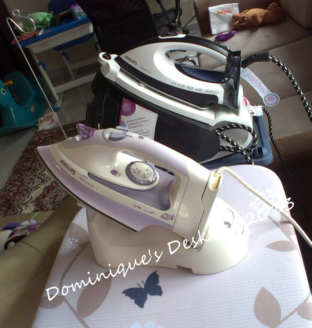 The new vs the old steam iron