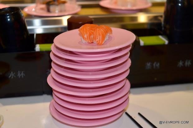 суши, морепродукты, sushi express xiamen
