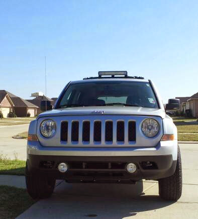 anybody have a roof mounted led bar jeep patriot forums. Black Bedroom Furniture Sets. Home Design Ideas