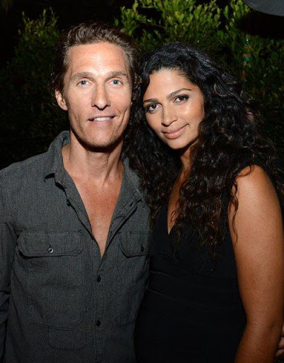 Newlyweds Matthew McConaughey and Camila Alves hosted NYLON Guys and Macy's INC in Santa Monica last night.