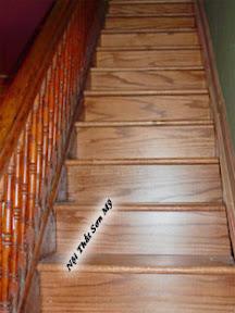 Cầu thang gỗ CTSM0104